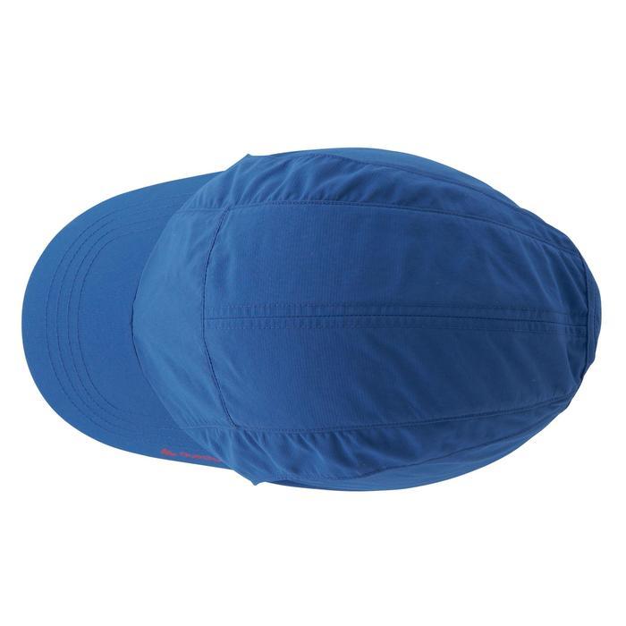 Gorra de senderismo niños Hike 500 Azul