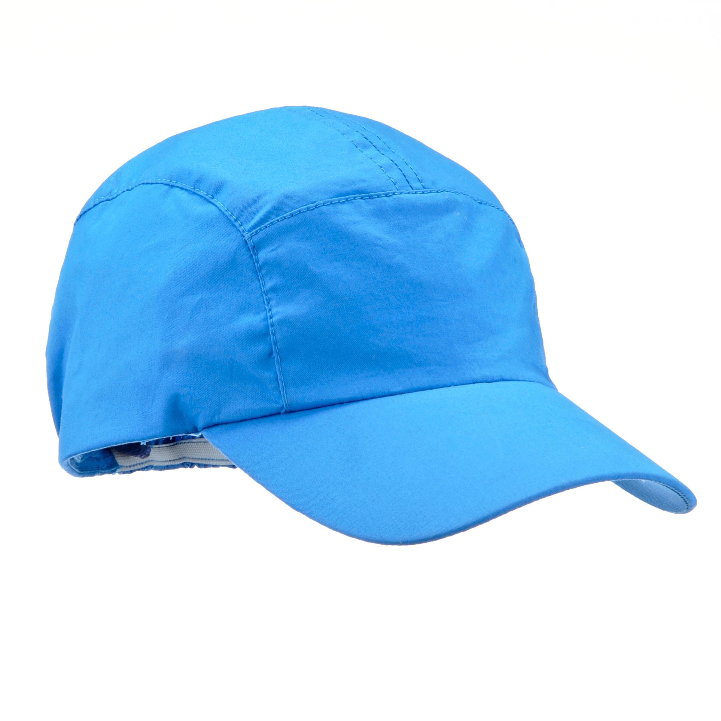 Gorra de senderismo júnior MH100 azul 3 A 6 AÑOS