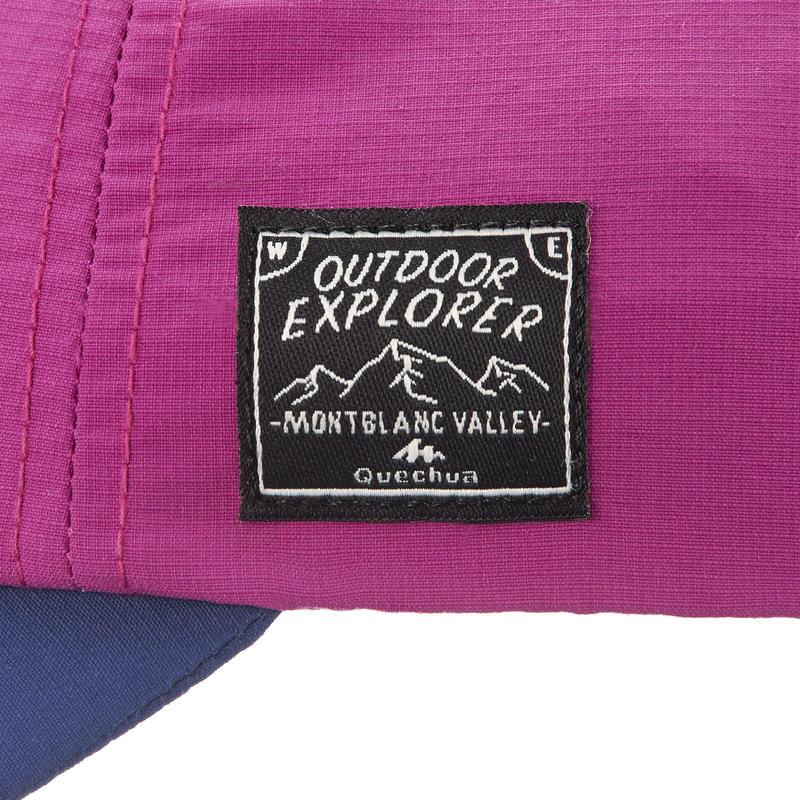 Casquette de randonnée enfant Hike 100 violet