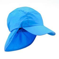 Gorra de senderismo niños Hike 500 azul 6322e1adb2f