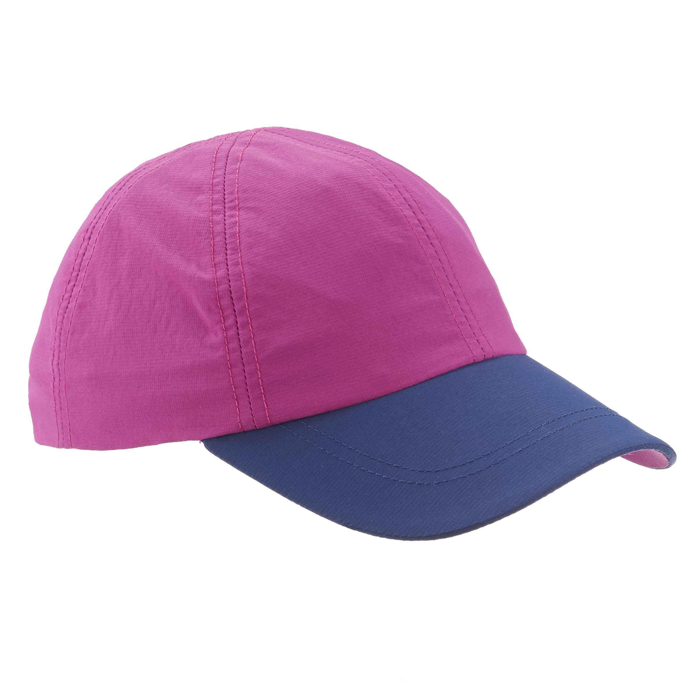 Gorra de travesía niña Hike 100 morado