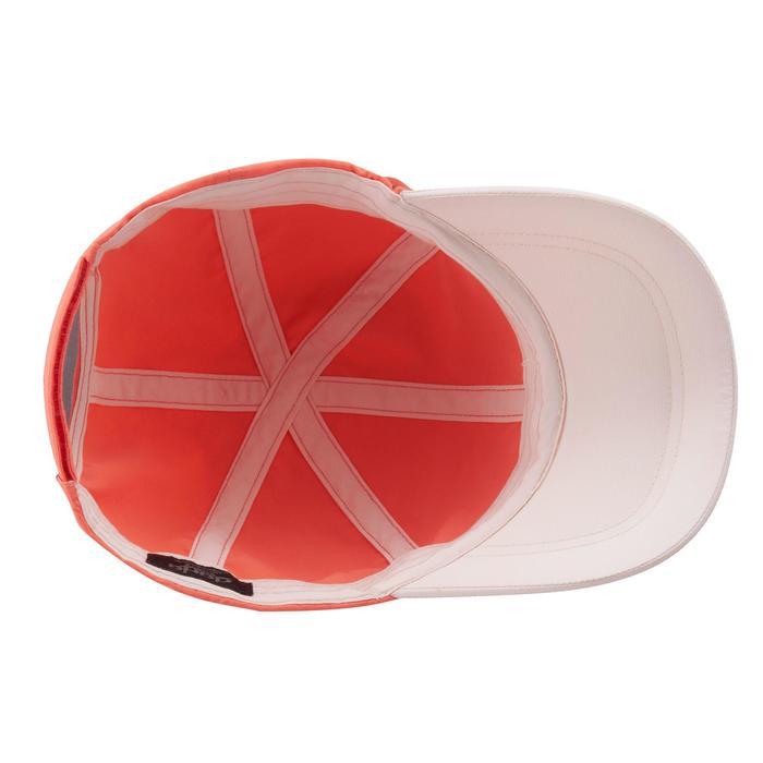 Gorra de senderismo júnior MH100 rojo coral