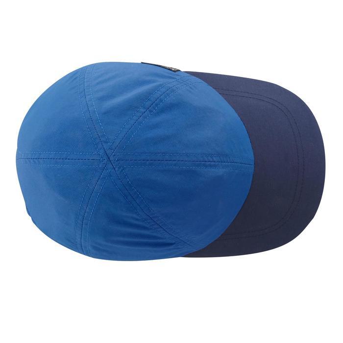 Casquette de randonnée enfant Hike 100 bleue - 1059436