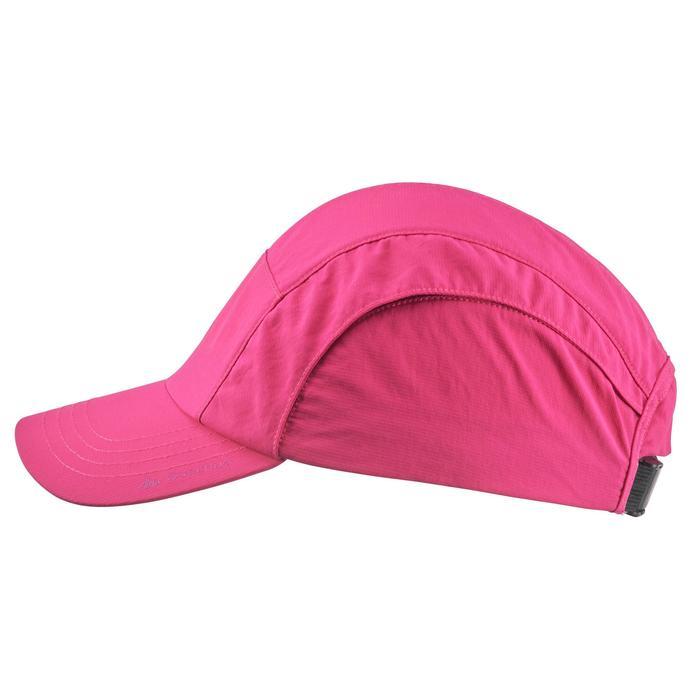 Gorra de senderismo niñas Hike 500 rosa
