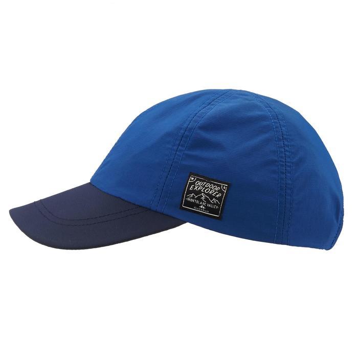 Casquette de randonnée enfant Hike 100 bleue - 1059456