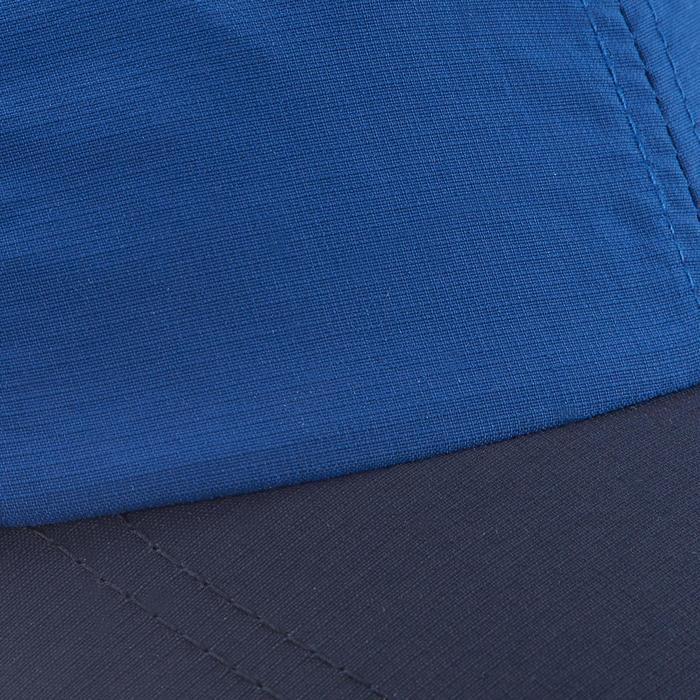 Schirmmütze Cap Hike 100 Kinder Jungen blau