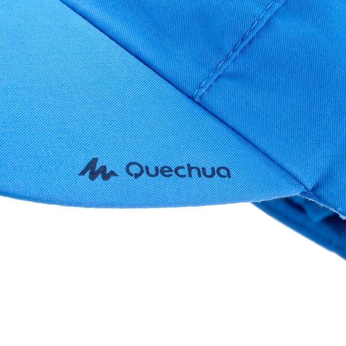 Gorra Senderismo Montaña Quechua MH100 Junior 3/6 Años Azul Claro