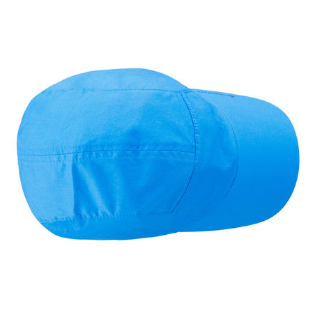 Children's MH100 hiking cap 3 to 6 YEARS - Blue
