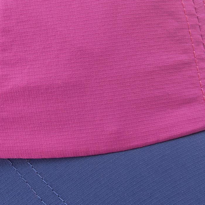 Schirmmütze Cap Hike 100 Kinder Mädchen lila