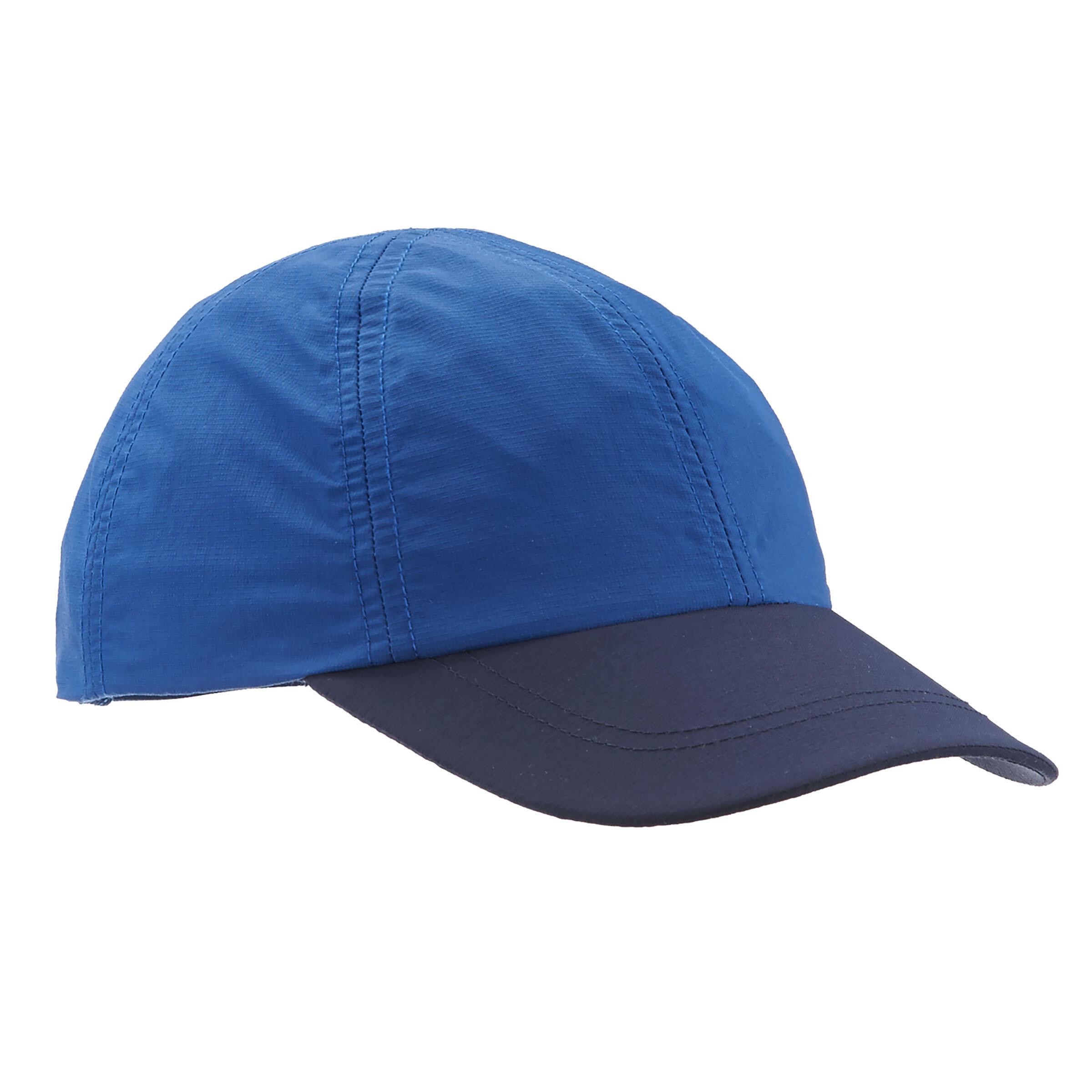 Gorra de travesía niño Hike 100 azul