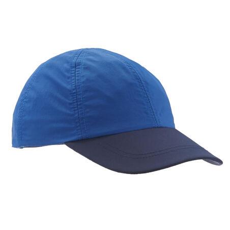 Kids' Hiking cap MH100 - Blue age 7-15 years