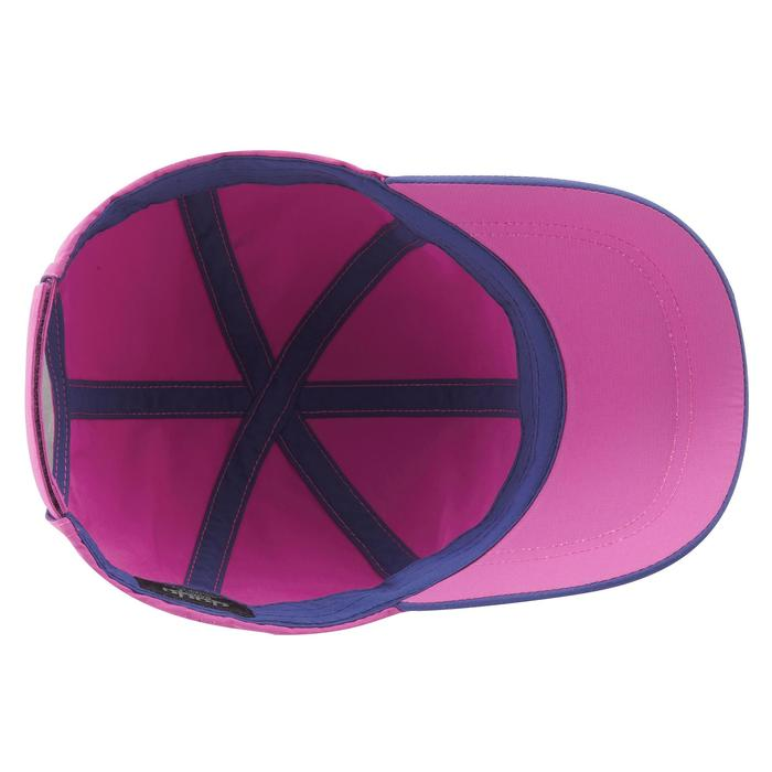 Gorra de senderismo júnior MH100 violeta