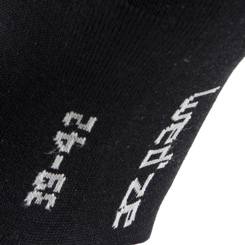 ถุงเท้าสกีซับในผ้าไหมสำหรับผู้ใหญ่