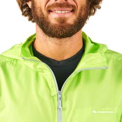 Men's FH100 Helium Wind s UV-resistant hiking windbreaker Aniseed green