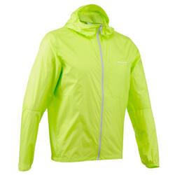 Men's FH100 Helium Wind s UV-resistant hiking windbreaker Aniseed green