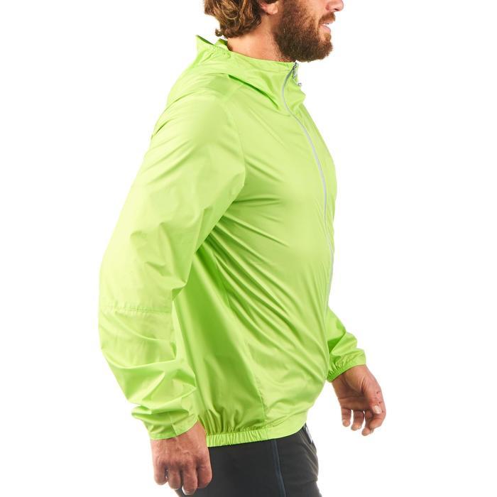 男款抗UV健行防風外套Helium FH100-茴香綠