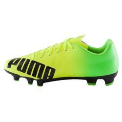 Botas fútbol adulto Evospeed 5,4 FG amarillo verde