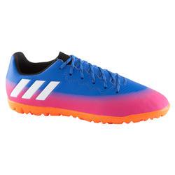 Voetbalschoenen voor kinderen Messi 17.3 TF blauw/roze