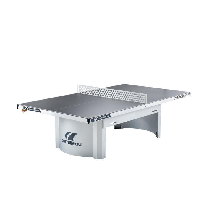 TABLE DE TENNIS DE TABLE FREE 510 PRO OUTDOOR GRISE - 1060263