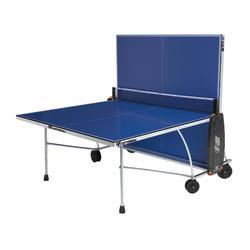 Tafeltennistafel / pingpongtafel 100 indoor blauw