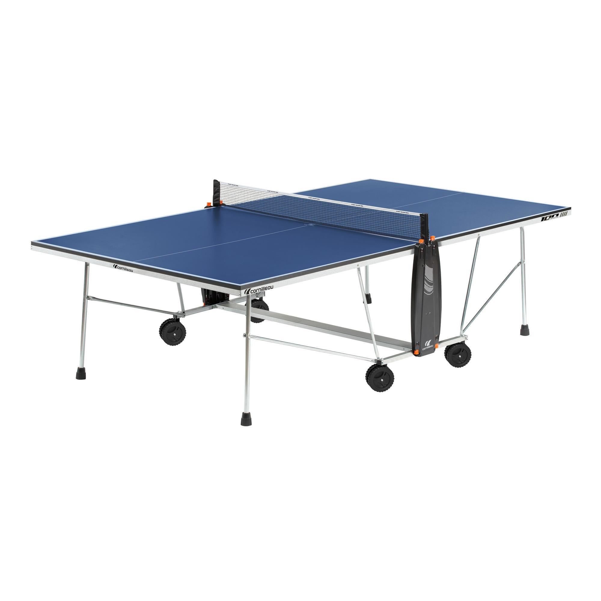 Tables Indoor Interieur De Ping Pong Decathlon