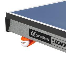 Tafeltennistafel / pingpongtafel 500 indoor blauw