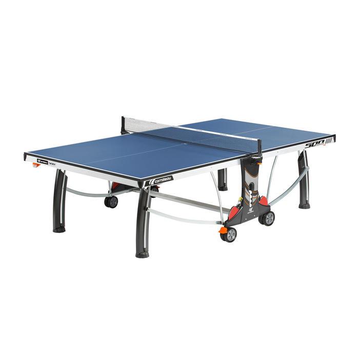 Tischtennisplatte Club 500 Indoor blau