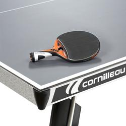 Tafeltennistafel / pingpongtafel outdoor 400M Crossover grijs