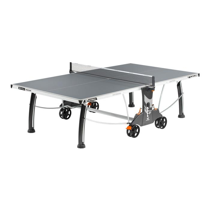 TABLE DE TENNIS DE TABLE FREE CROSSOVER 400S OUTDOOR GRISE - 1060366