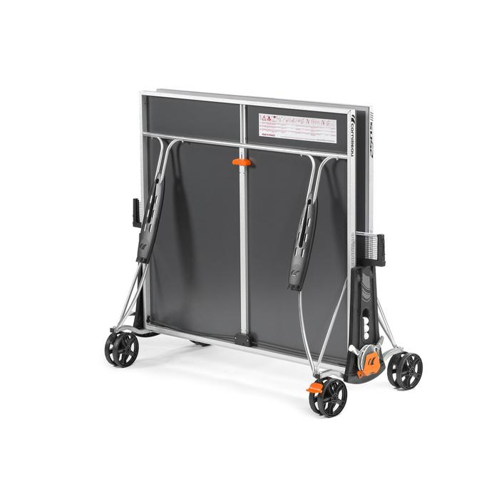 Tafeltennistafel / pingpongtafel outdoor 250S Crossover grijs