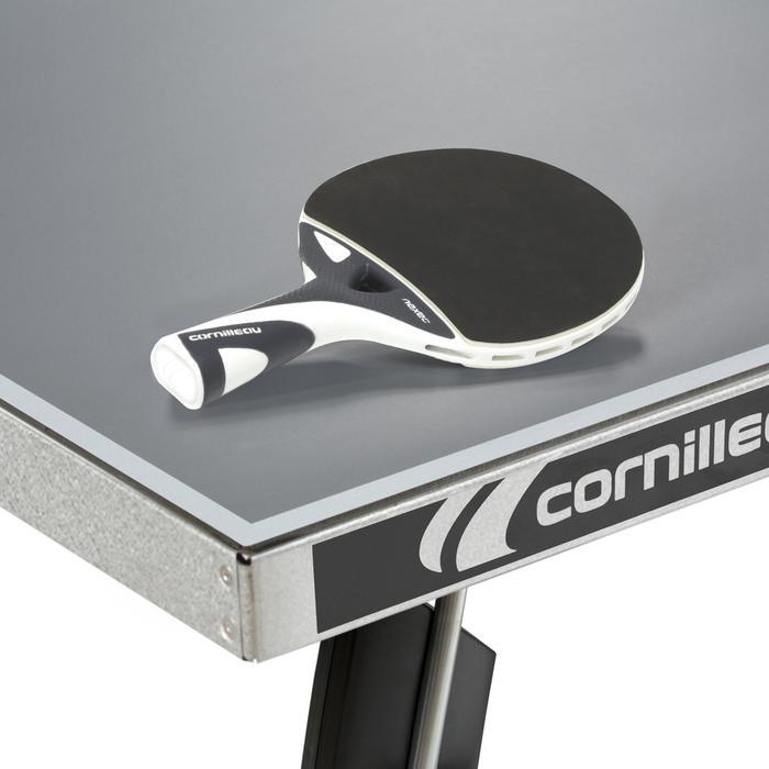 Tafeltennistafel free Crossover 300S outdoor grijs met hoes