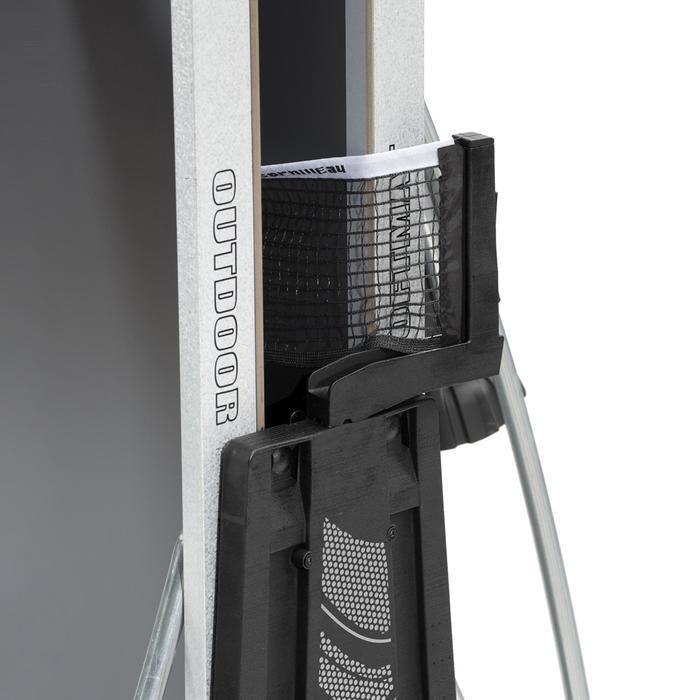 Tafeltennistafel outdoor 300S Crossover grijs - 1060381