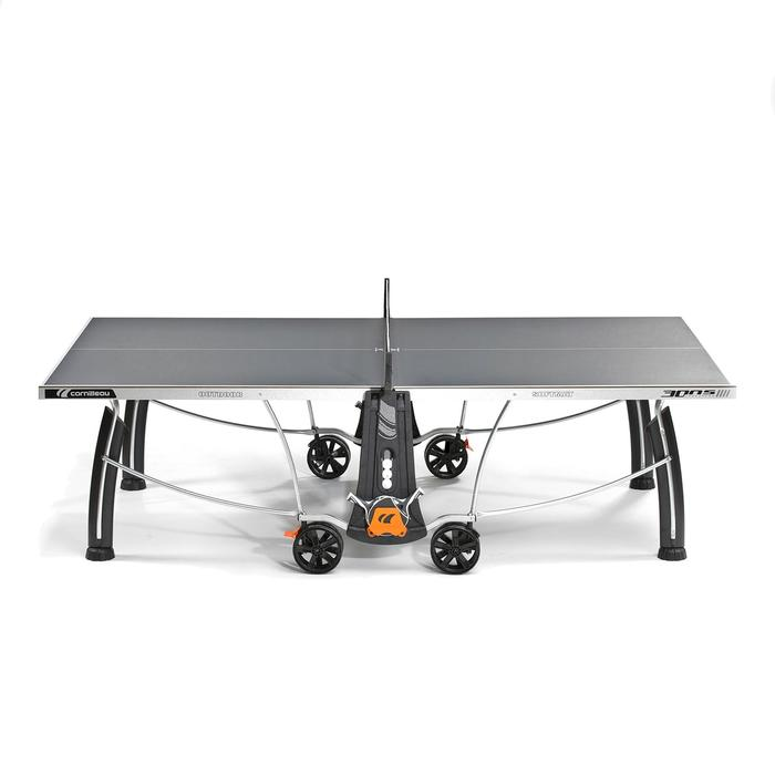 Tafeltennistafel outdoor 300S Crossover grijs - 1060387