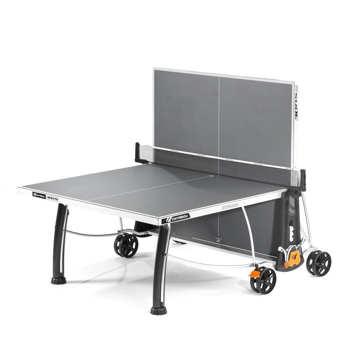 Tischtennisplatte 300S Crossover Outdoor grau