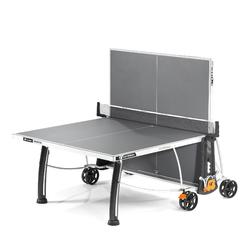 TABLE DE TENNIS DE TABLE FREE CROSSOVER 300S OUTDOOR GRISE + HOUSSE