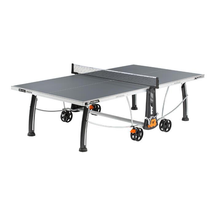 Tafeltennistafel outdoor 300S Crossover grijs - 1060390