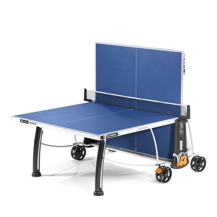 TABLE DE TENNIS DE TABLE FREE CROSSOVER 300S OUTDOOR GRISE / BLEUE - 1060401