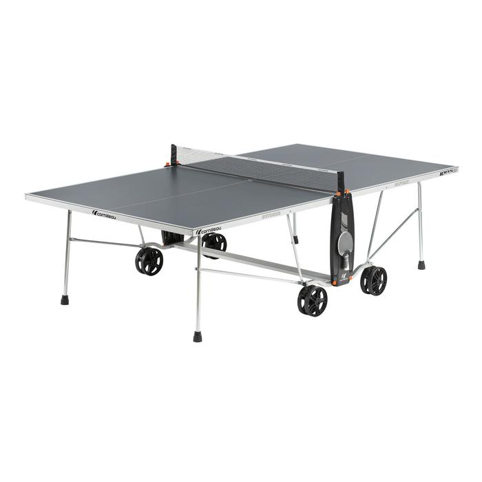 TABLE DE TENNIS DE TABLE FREE CROSSOVER 100S OUTDOOR GRISE