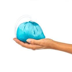 Windjack trekking Helium Wind 500 uv-werend dames met opdruk - 1060443