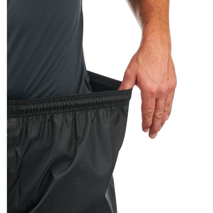 Sur-pantalon imperméable randonnée nature homme Raincut noir