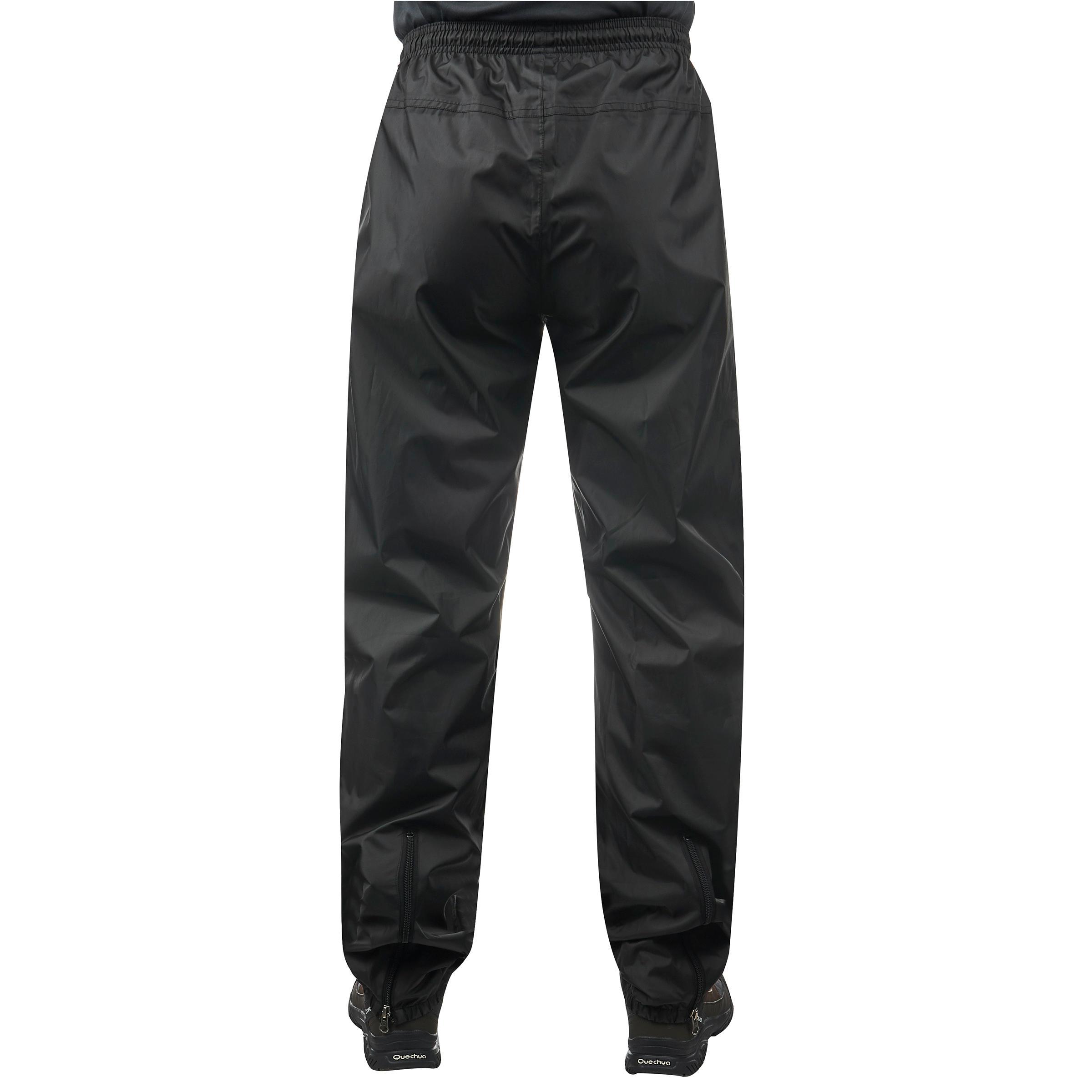 Mens Cargo Motorbike Protective Trousers Waterproof Black W36 L34