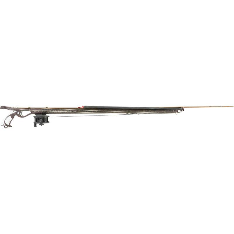 SPEARGUNS 50/75 CM, BUNGEES, SHAFTS - Cherokee Speargun + Reel CRESSI SUB