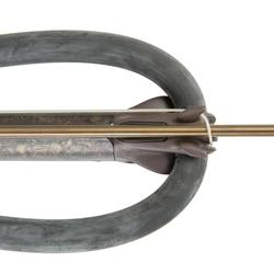 Arbalète de chasse pêche sous-marine Cherokee camo avec moulinet (tête ouverte)