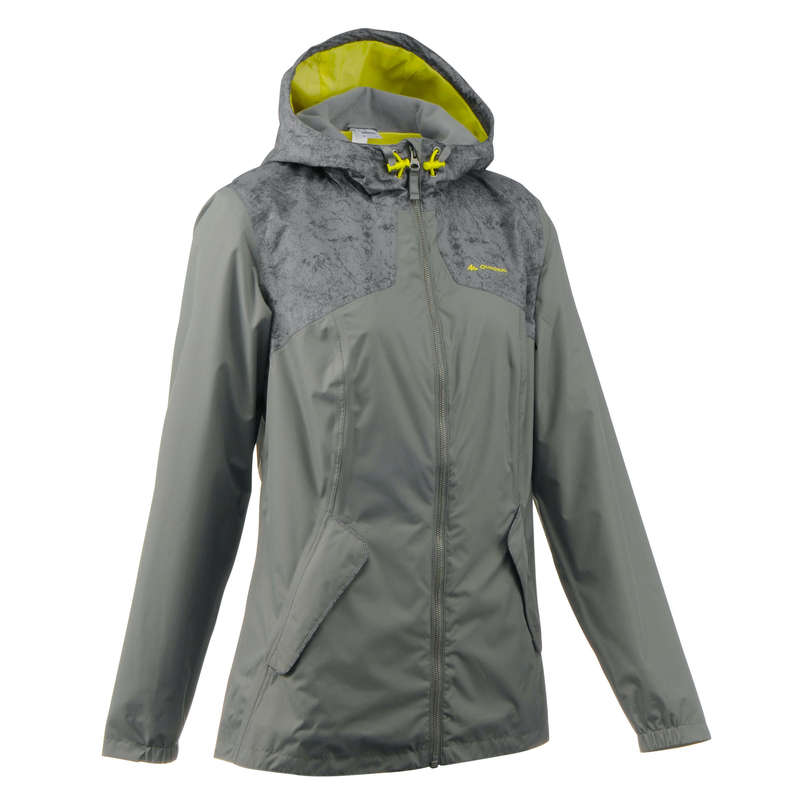 ЖЕНСКИЕ КУРТКИ / прогулки на природе Хайкинг - Куртка NH100 жен.  QUECHUA - Семьи и категории