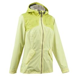 NH100 女款防水自然健行夾克 - 粉紅色