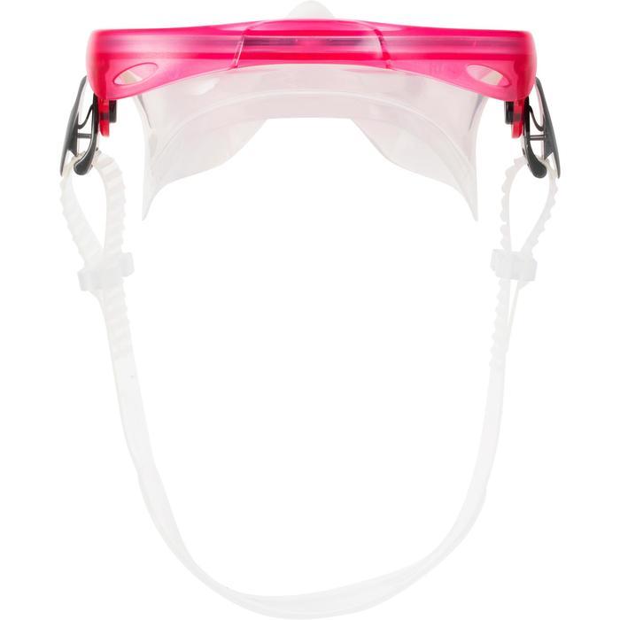 Schnorchel-Set Freediving PMT100 Kinder rosa