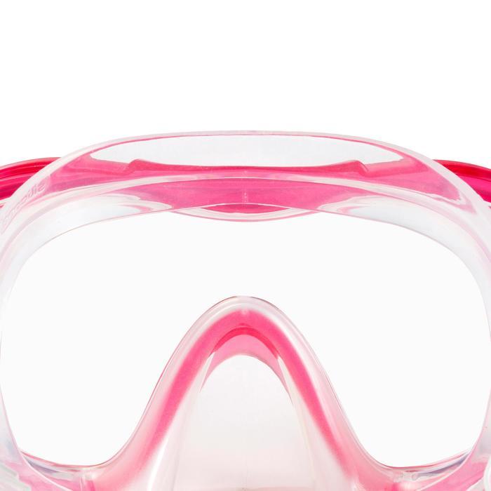 Kit de snorkeling PMT palmes masque tuba 100 adulte - 1060742
