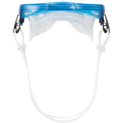 Masque de plongée bouteille ou de snorkeling 100 enfant bleu