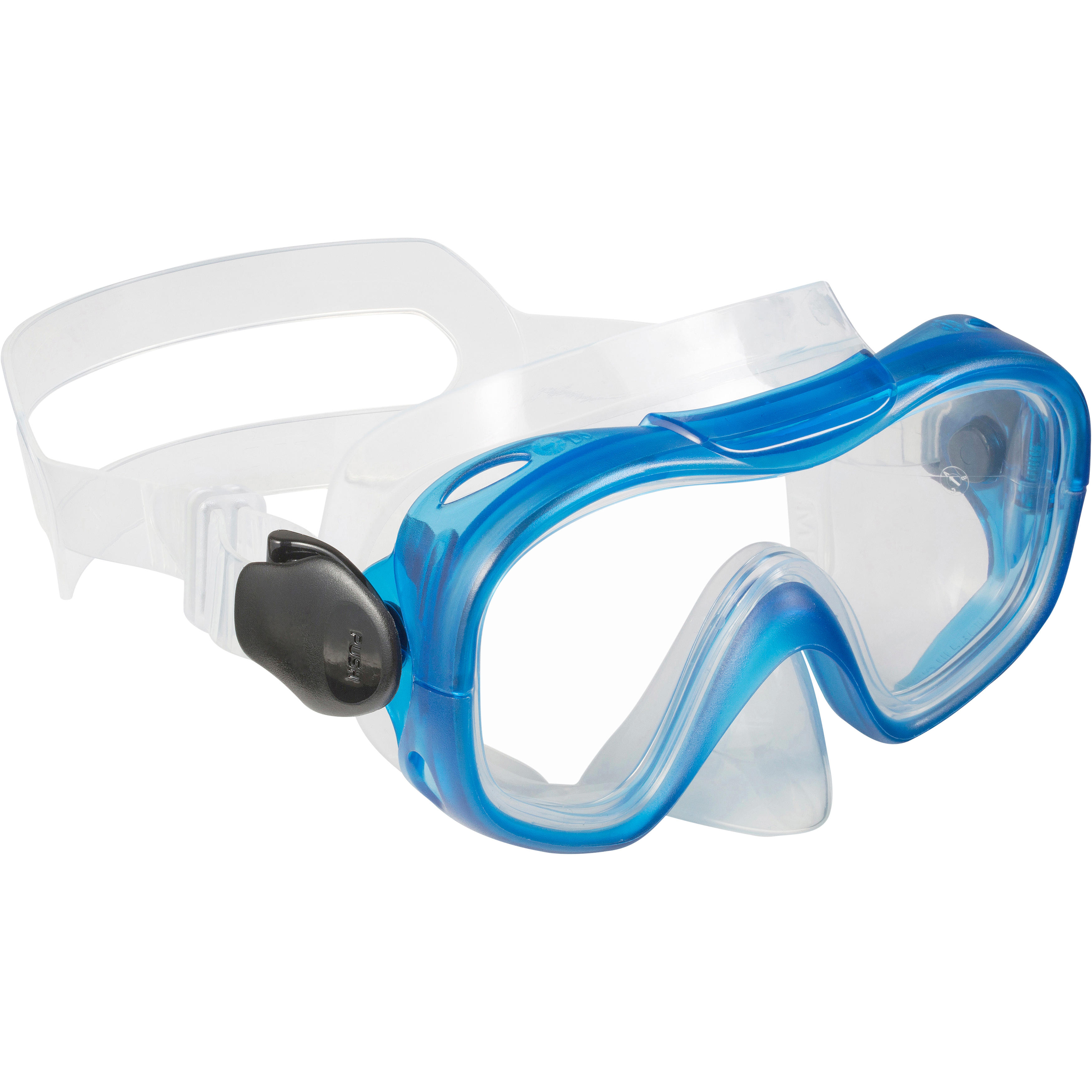 Kids SCUBA Diving or Snorkeling Mask 100- Blue
