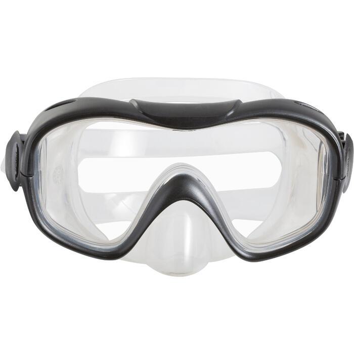 Kit de snorkeling PMT palmes masque tuba 100 adulte - 1060790